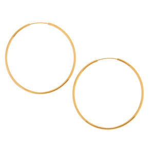 18kt Gold Plated 30MM Hoop Earrings,