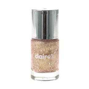 Pink & Gold Glitter Nail Polish,