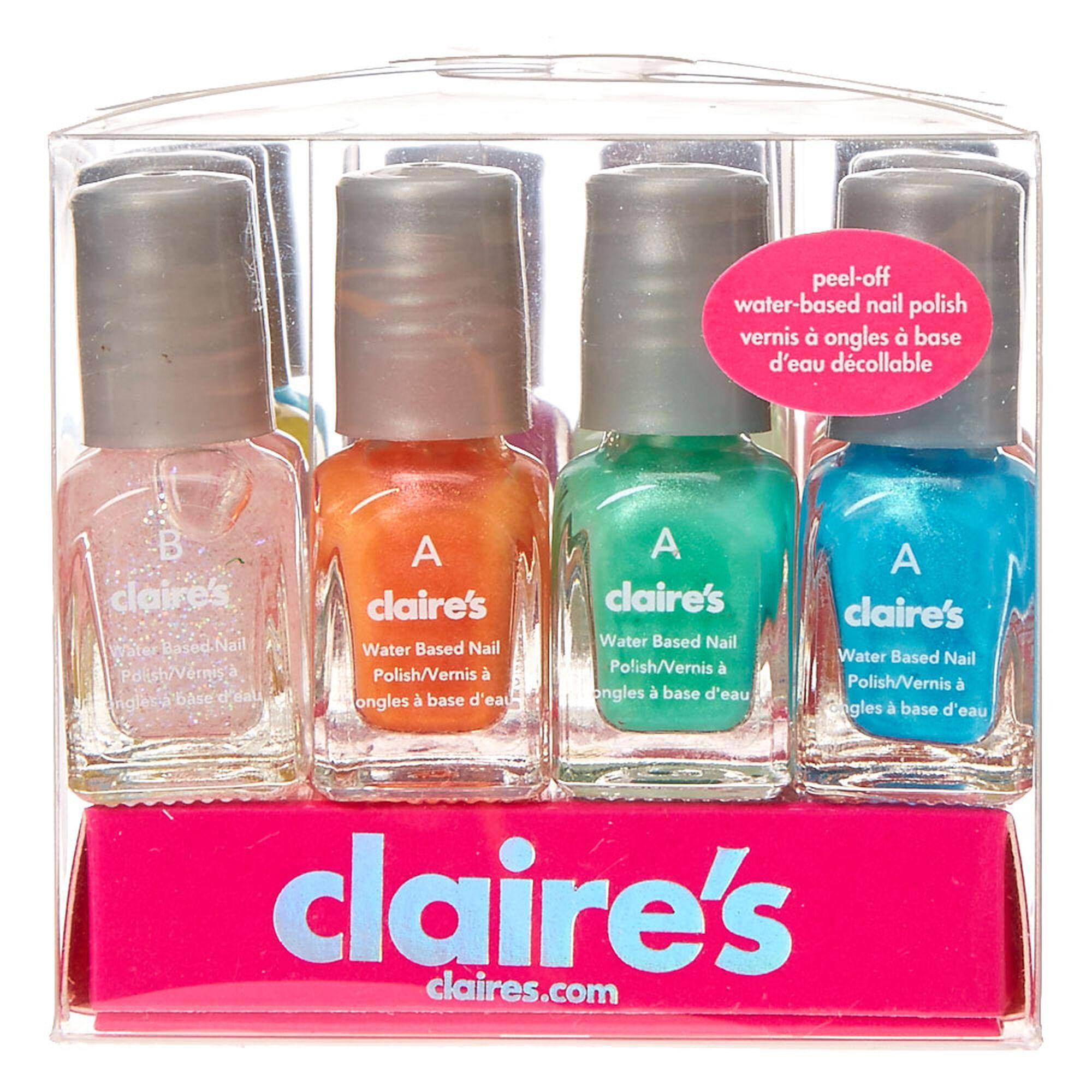 Mini Water-Based Nail Polish Set | Claire\'s US