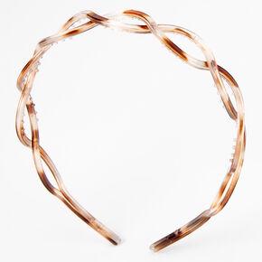 Animal Print Twisted Headband,