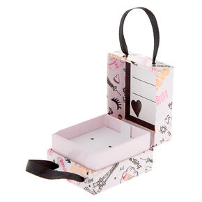 Small Paris Gift Box - Pink,