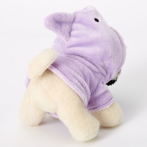 Doug the Pug™ Small Shark Plush Toy - Purple,