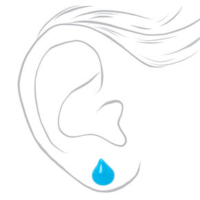 Weather Report Assorted Stud Earrings - 6 Pack,