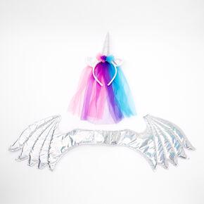 Holographic Unicorn Dress Up Set - 2 Pack,