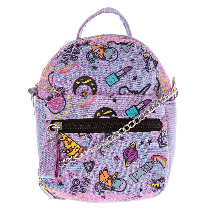 131651bad1 Unicorn PWR Mini Backpack Crossbody Bag - Purple