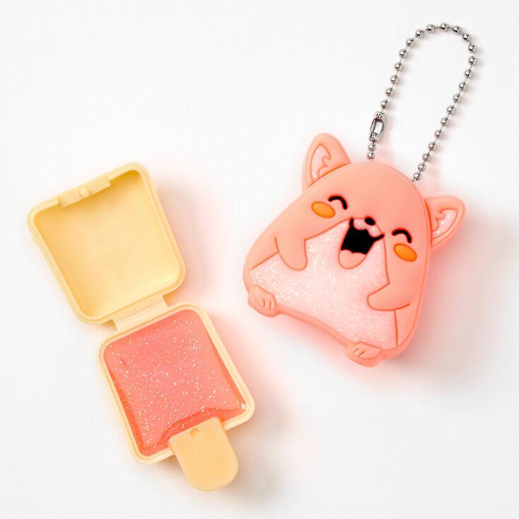 Pucker Pops Glitter Hamster Lip Gloss - Peach,