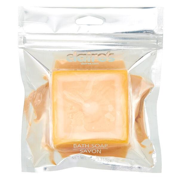 Claire's - squarelemon bath soap - 1
