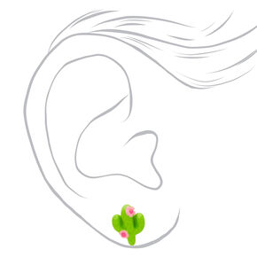 Plant Girl Stud Earrings - 3 Pack,