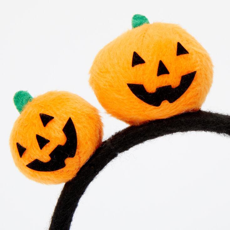Soft Pumpkin Headband - Orange,