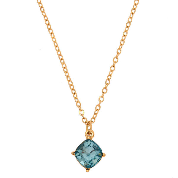 Claire's - march birthstone pendant necklace - 1