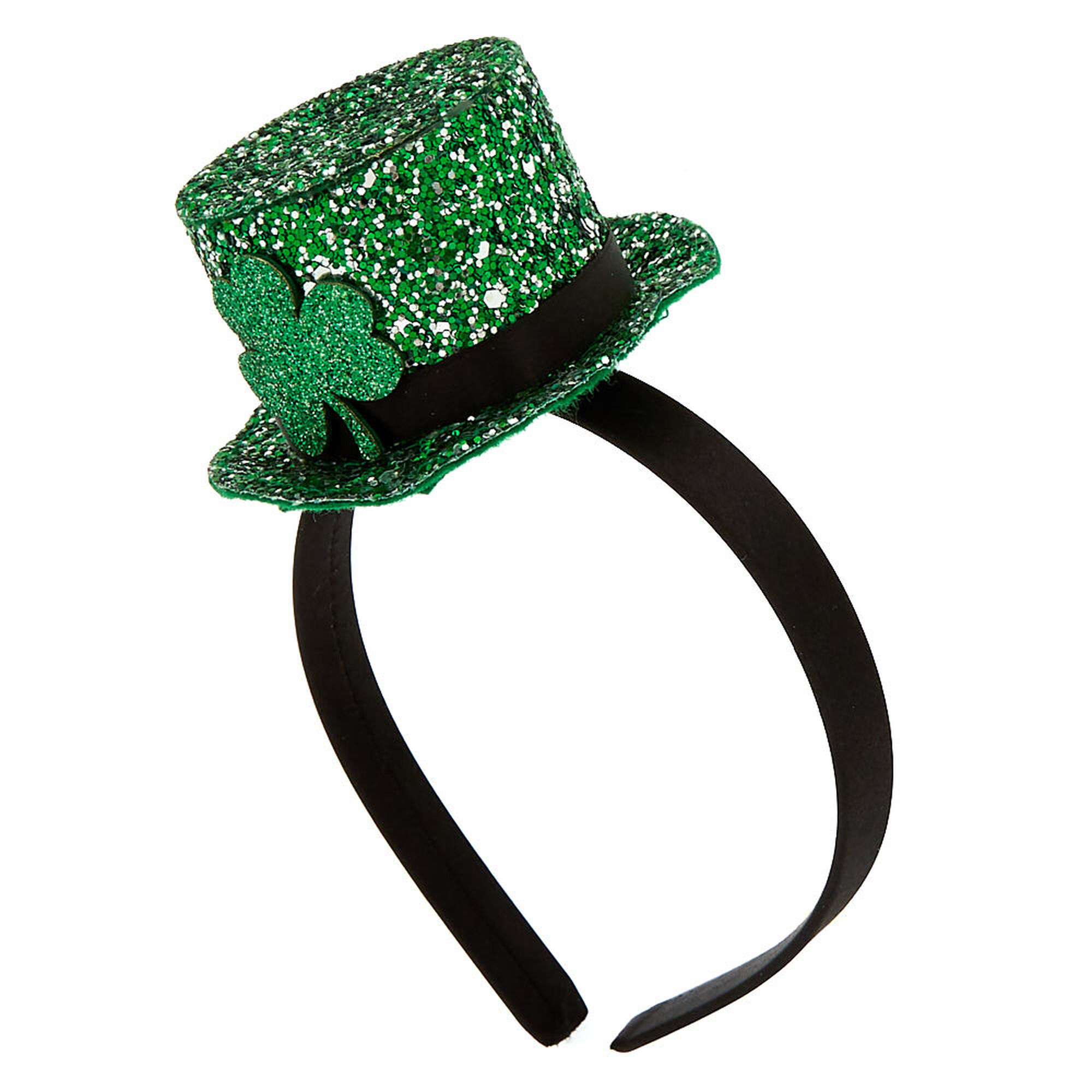 Glitter Irish Hat Headband - Green  ae51cab6f73