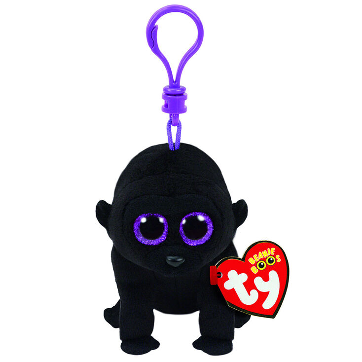 Ty Beanie Boo George the Gorilla Keyring Clip  91acefd4dc2