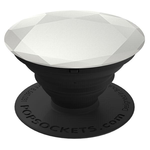 Claire's - metallic diamond popsocket - 1