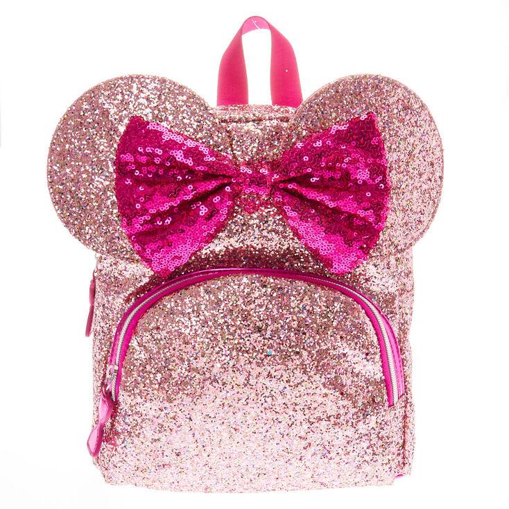 8785c36b6fe Disney reg  Minnie Mouse Ears Glitter Bag- Pink