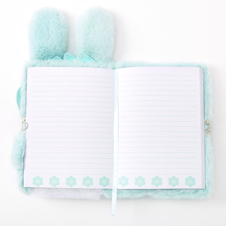 Jade the Bunny Soft Lock Diary - Mint,