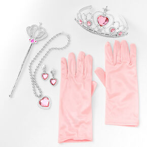 Claire's Club Pink Heart Princess Dress Up Set - 5 Pack,