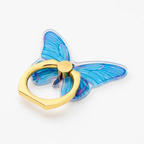 Blue Butterfly Ring Stand,