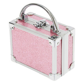 Claire's Club Glitter Lock Box Makeup Set - Pink,