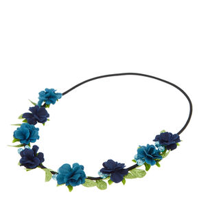 Blue Goddess Headwrap,
