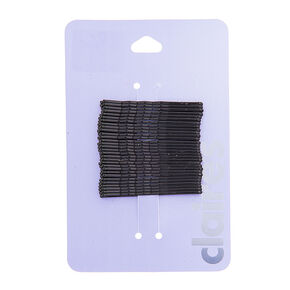 Basic Bobby Pins - Black, 30 Pack,