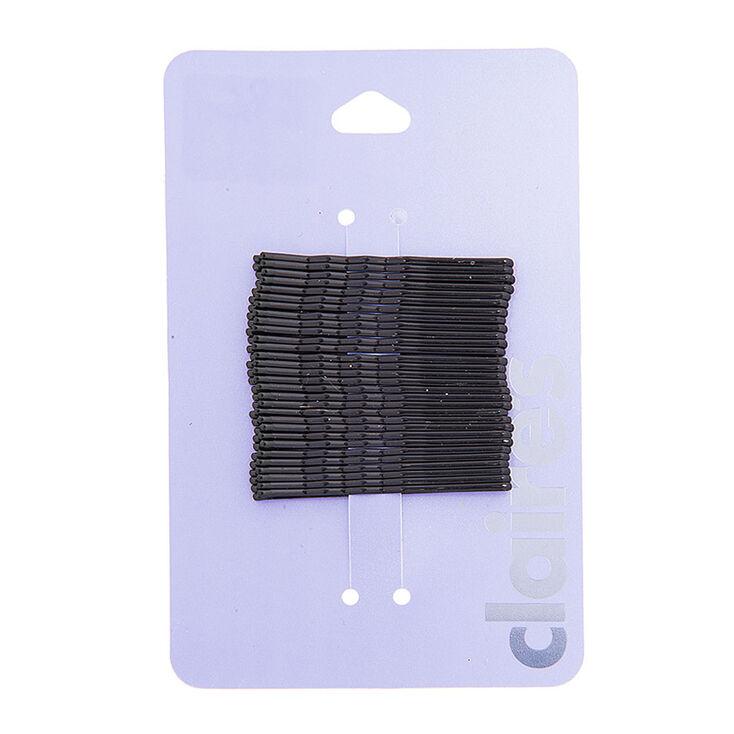 Basic Bobby Pins - Black, 30 Pack,