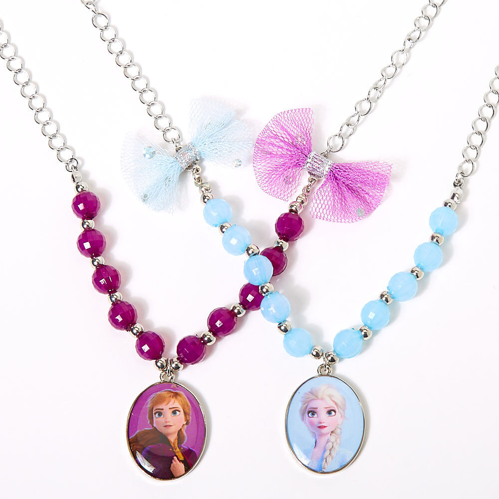 Disney frozen necklaces