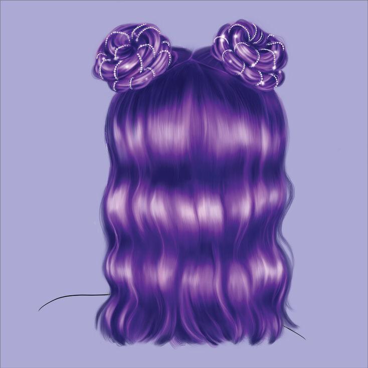 Embellished Space Buns Hair Tool Kit,