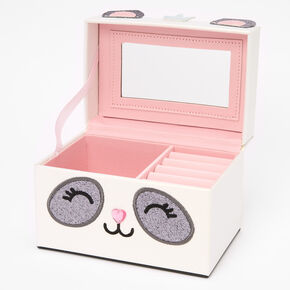 Claire's Club Paige the Panda Jewelry Box,