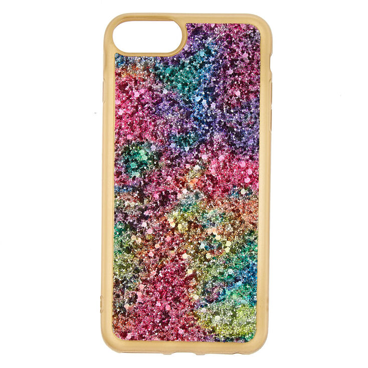 low priced ee439 b7c5f Space Glitter Phone Case - Gold