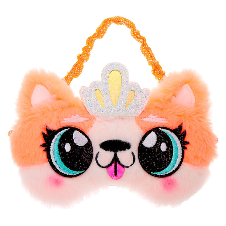 Queenie the Corgi Sleeping Mask - Orange,