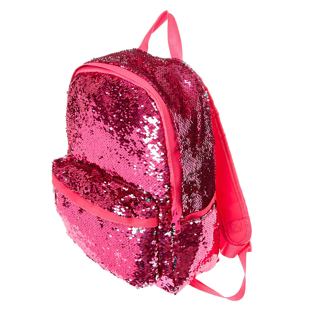Rose Gold Glitter Mini Backpack - OS / RED I Saw It First 0uWFSf
