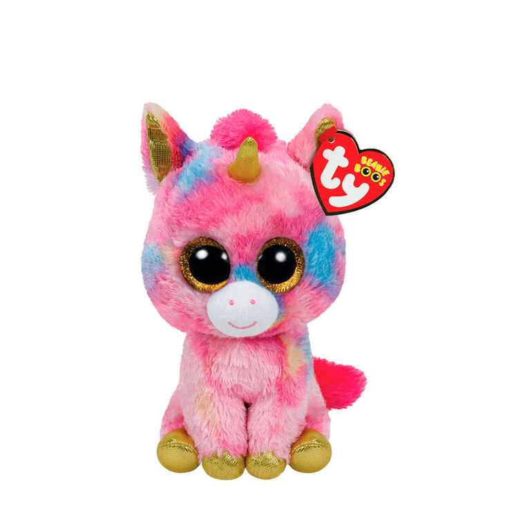 Ty Beanie Boo Small Fantasia the Unicorn Soft Toy,