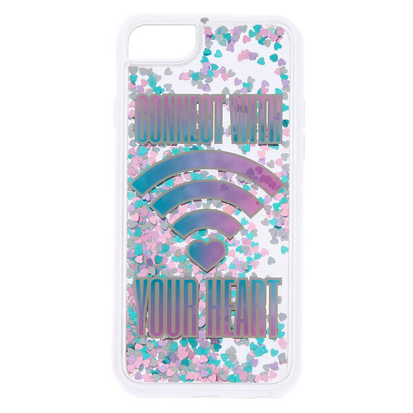 Claire's - connectwith your heart phone case - 1