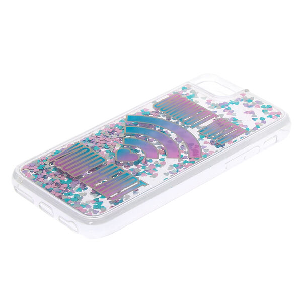 Claire's - connectwith your heart phone case - 2
