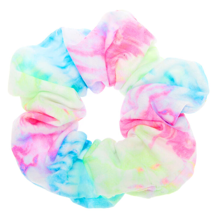 Medium Pastel Tie Dye Hair Scrunchie,