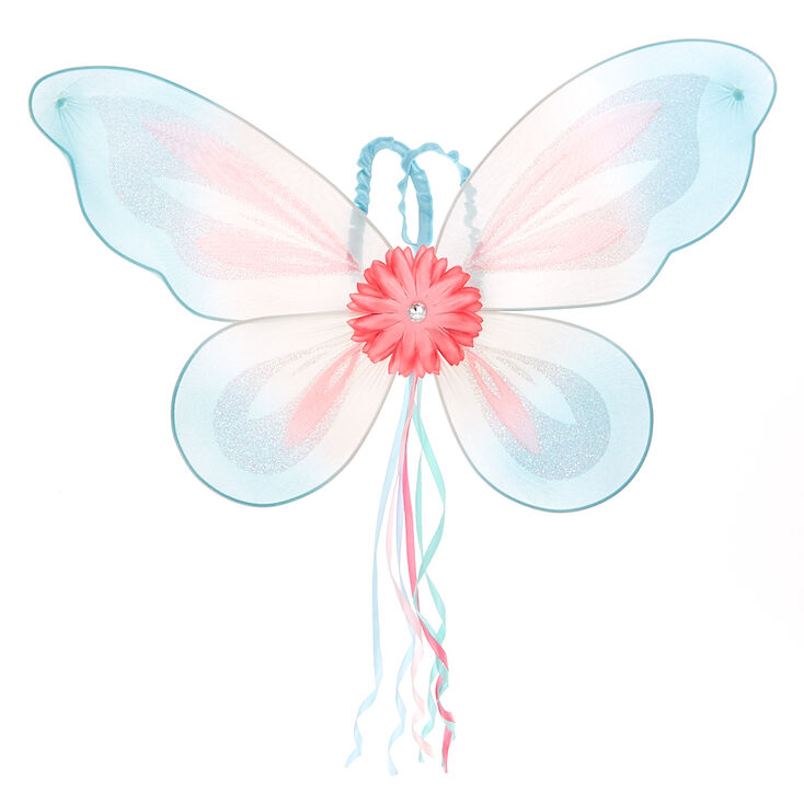Claire's Club Butterfly Wings - Blue,