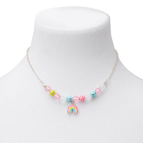 Claire's Club Glitter Rainbow Jewelry Set - 3 Pack,