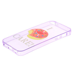 I Donut Care Phone Case - Fits iPhone 5/5S,