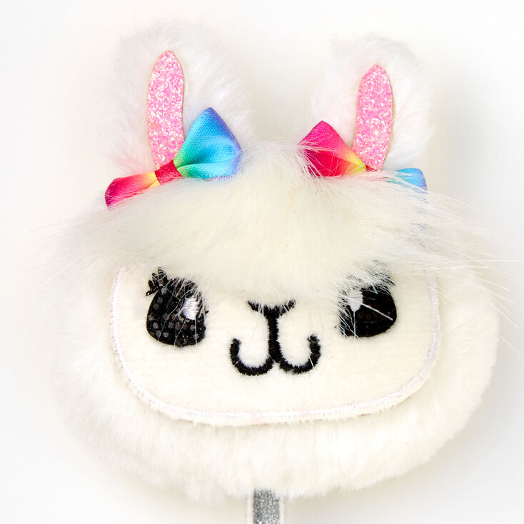 Plush Llama Head Pen,