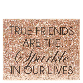 True Friends Rose Gold Wall Art