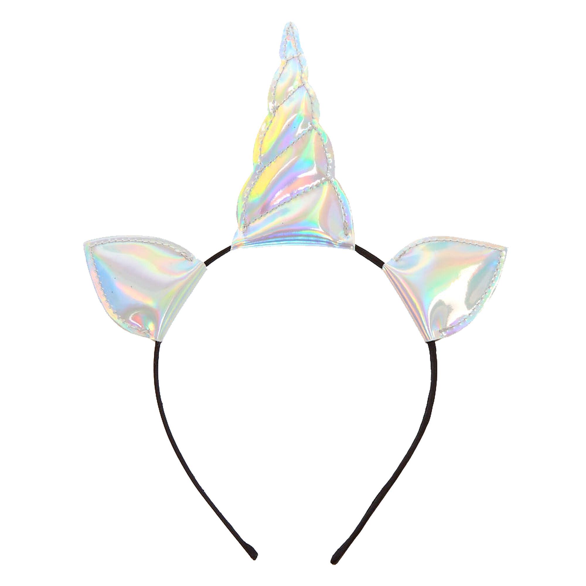 ... Holographic Unicorn Horn Headband b6ce624b2cb