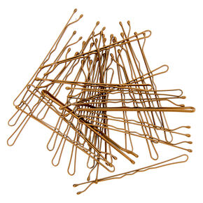 Large Bobby Pins - Blonde, 30 Pack,