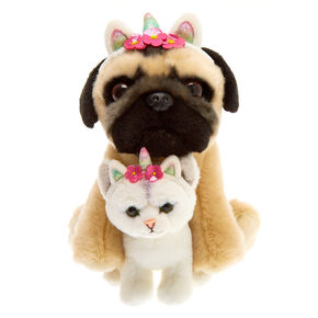 Doug the Pug™ & Fiona Medium BFF Plush Toy Set,