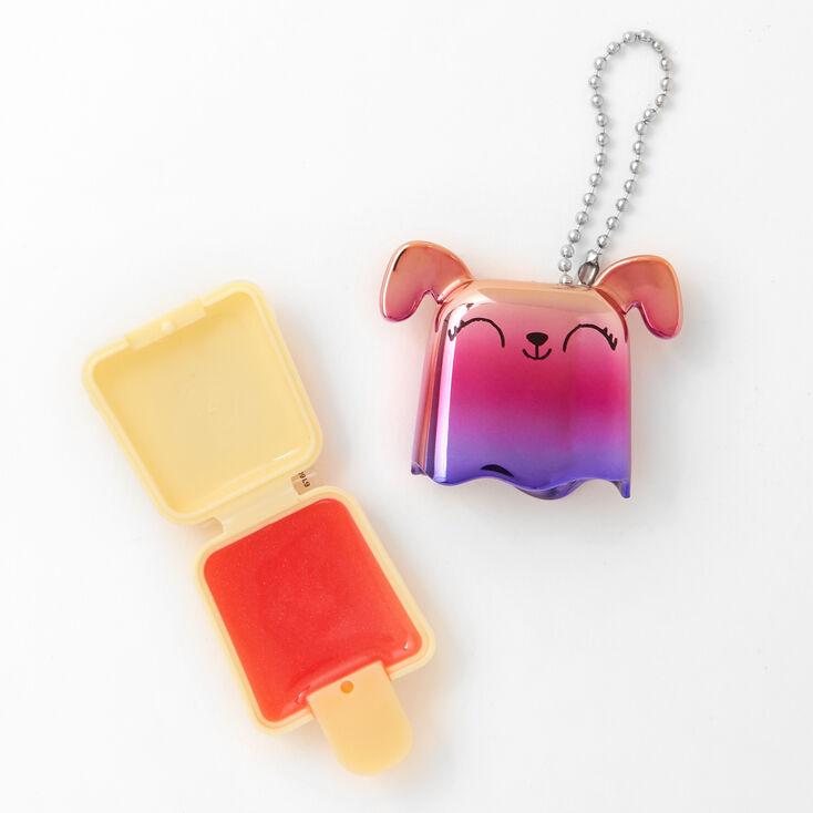 Pucker Pops Rainbow Metallic Puppy Lip Gloss - Mango,