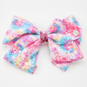 JoJo Siwa™ Tie-Dye Sequin Hair Bow,