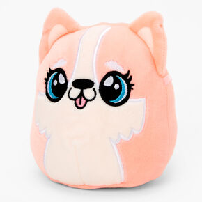 """Squishmallows™ 5"""" Puppy Dog Plush Toy - Coral,"""