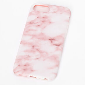 Blush Marble Phone Case - Fits iPhone 6/7/8/SE,