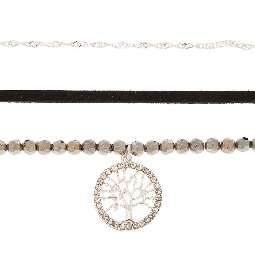 Uhren & Schmuck Lot Bundle Of 3 Strand String Faux Pearl Chain Mix Necklaces Including Claires