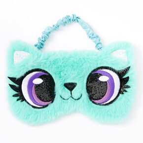 Cat Sleeping Mask - Blue,
