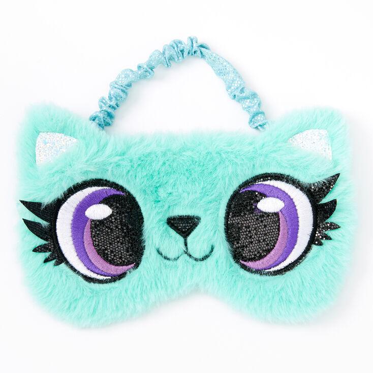 Cat Sleeping Mask - Blue,
